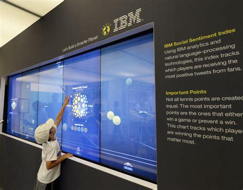 IBM News room - US Open 2014 mobile app on iPad featuring ...