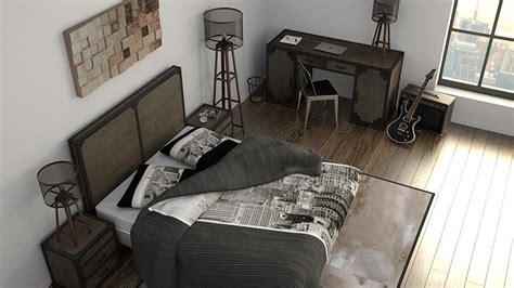 chambre ado style industriel mobiliermoss lit design lits design en cuir
