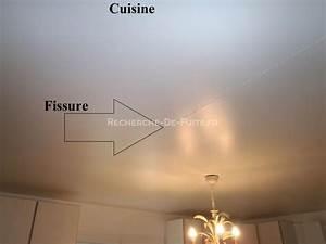 Fissure Au Plafond : rparer les fissures au plafond decofr ~ Premium-room.com Idées de Décoration