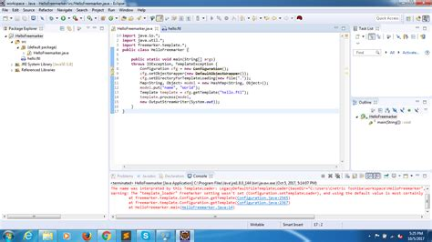 freemarker template i written a java program using freemarker template but it s showing deprecated error and i