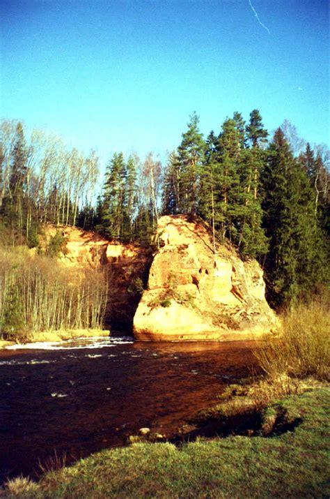 Latvijas dabas skaistās vietas