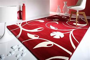 Carpet asia pacific impex for Modern carpet pattern red