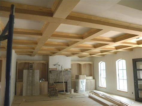 david carpentry image portfolio coffered ceilingsfaux beams
