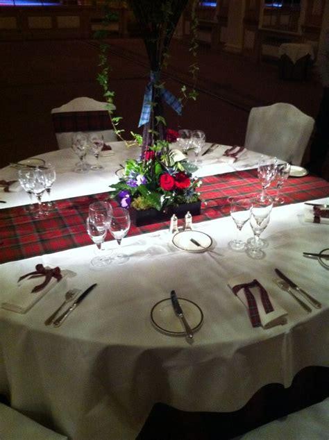proper scottish table setting  gleneagles hotel