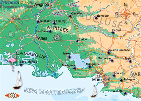 cours de cuisine vaucluse carte des bouches du rhône provence web