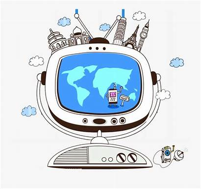 Cartoon Technology Science Future Clipart Clipartkey