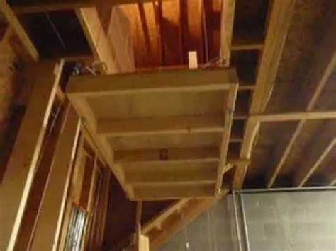 garage hoist lift youtube