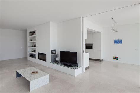 impressive grey and white tiles living room ideas