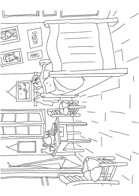 tableau de gogh la chambre coloriage tableau de gogh chambre à arles