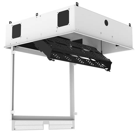 Ceiling Equipment atlasied cr222 nr concealed ceiling rack for 19 quot equipment