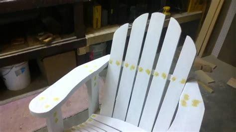 my adirondack chair project