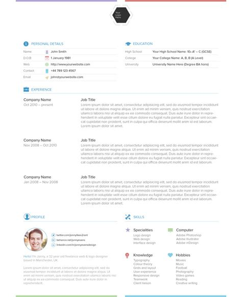 Indesign Resume Template by 85 Free Cv Indesign Resume Templates In Ai Html Psd