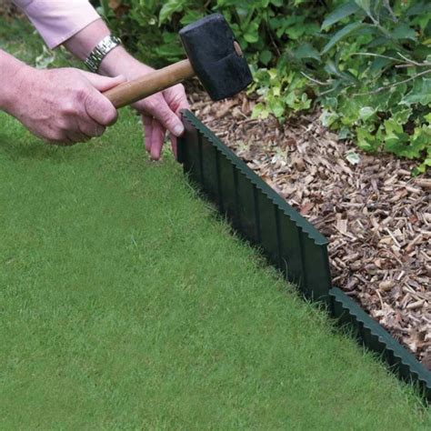 the complete guide to lawn edging the garden