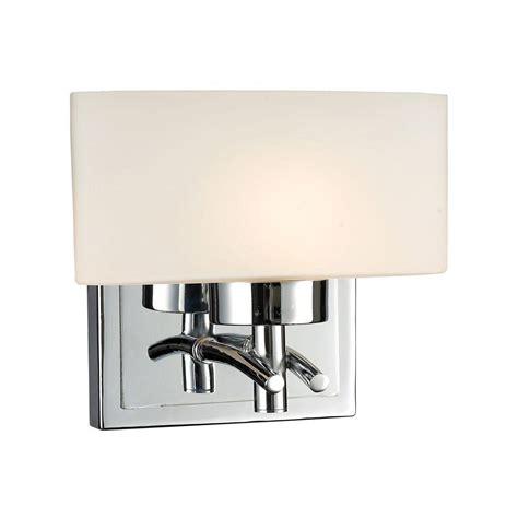 titan lighting elysburg 2 light polished chrome wall