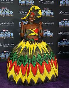Lupita Nyong39o And Women Of Black Panther In Royal Attire