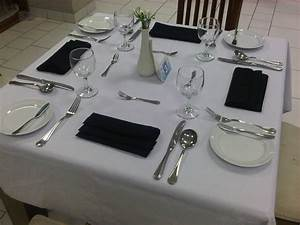 Casual Restaurant Table Setting Wwwimgkidcom The
