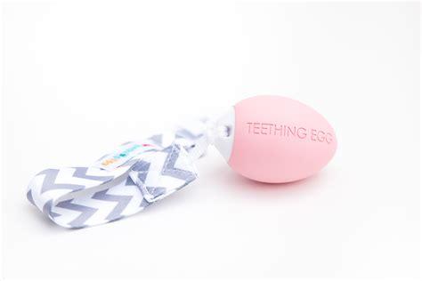 Teething Egg Baby Pink The Teething Egg