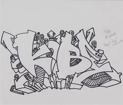 de graffitis para colorear dibujos graffitis chidos para calcar y colorear graffiti