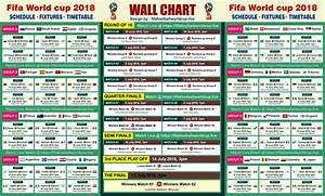 Fifa World Cup 2018 Free Wallchart Download Track 64 Matches
