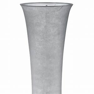 Lampe Grau Stoff : elegante stehleuchte aus stoff in grau mit fu schalter lampen m bel r ume wohnzimmer ~ Indierocktalk.com Haus und Dekorationen