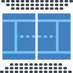 Tennis court - Free sports icons