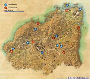 Rivenspire Skyshards Map Elder Scrolls Online Guides