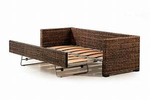 rattan sofa beds rattan sofa bed garden furniture outdoor With bamboo sofa bed