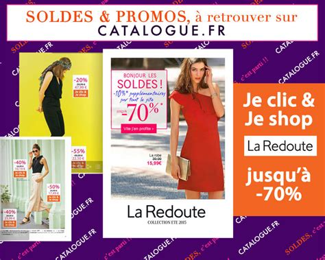 Soldes La Redoute Mode Jusqu'à -70% En Ligne Sur Catalogue.fr