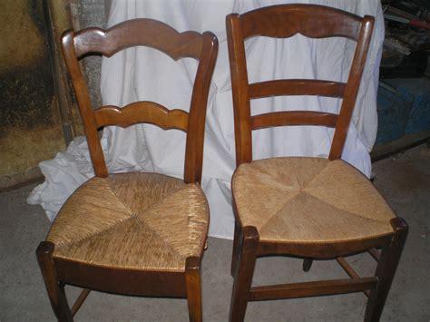 dessus de chaise en paille free chaises en bois assises paille with chaise cuisine