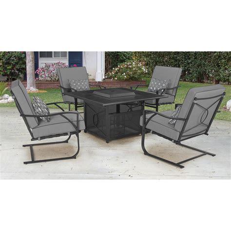 Courtyard Creations Inc Patio Furniture by Courtyard Creations Coronado Pit Set 5 Pc Firepits