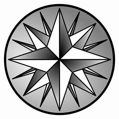Compass Rose Clip Clipart Vector Illustration Cliparts