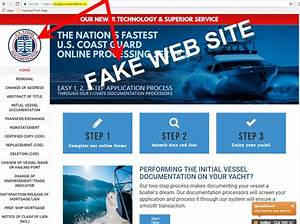 scam site charges mariners triple for vessel documentation With coast guard boat documentation