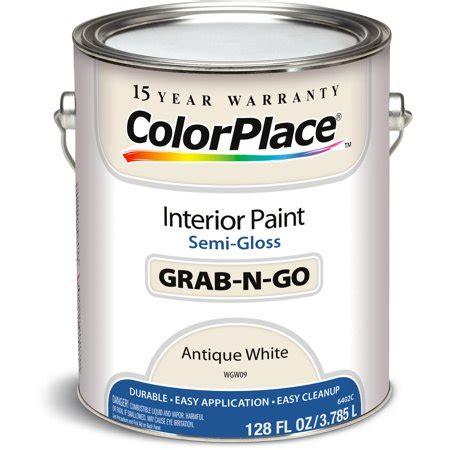 colorplace antique white semi gloss interior paint 1
