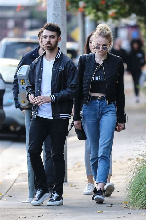 SOPHIE TURNER and Joe Jonas Out in Beverly Hills 01/05 ...