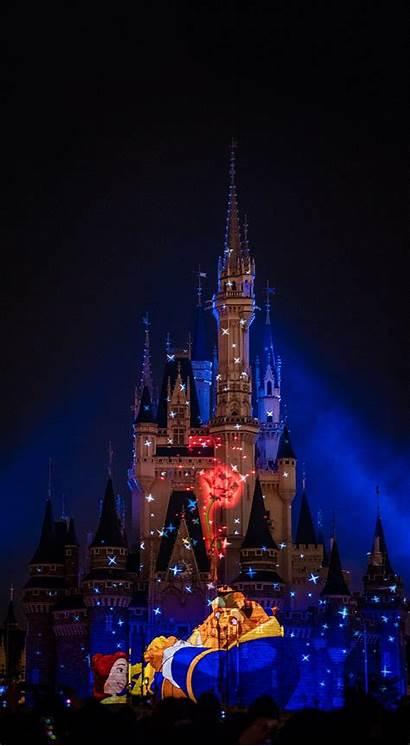 Disney Iphone Wallpapers Phone Castle Beast Cinderella