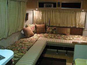 10 best images about airstream wrap around seating on for Wrap around sofa bed