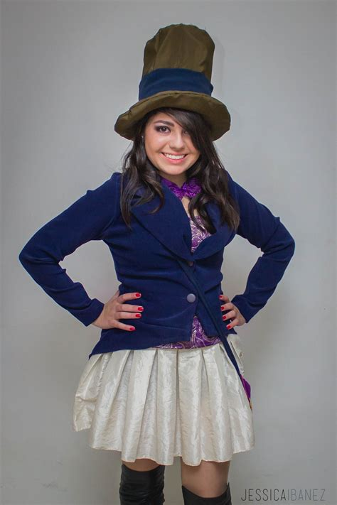 Willy Wonka Costume For Woman Pinteres