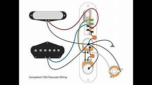Squier Affinity Telecaster Wiring Diagram