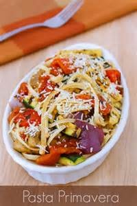 Pasta Vegetable Primavera Recipe