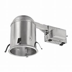 Recessed lighting loft insulation : Halo e series in aluminum recessed lighting new