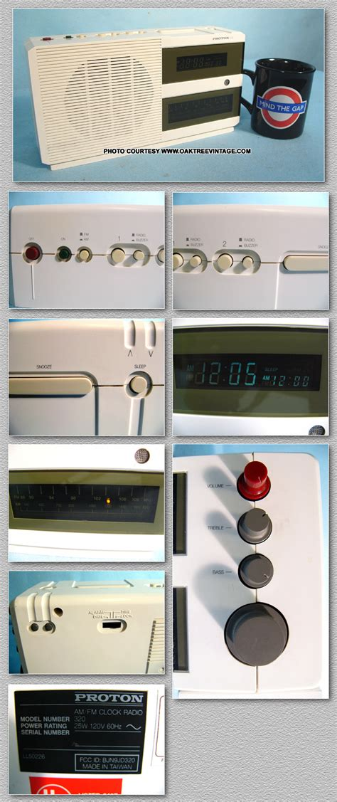 Proton Clock Radio by Transistor Radios For Sale This Is Our Restored