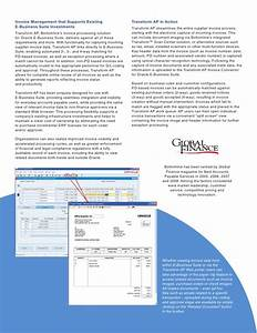 Transform ap integrated invoice processing for oracle e for Oracle ap invoice automation