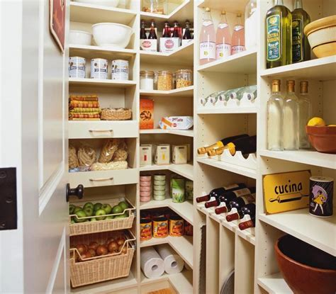 Melamine Pantry Shelving Design Ideas