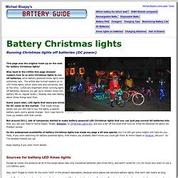 christmas lights that run on batteries dropping knowledge pearltrees