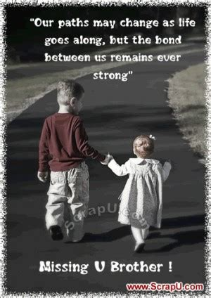 Missing U My Brother Quotes