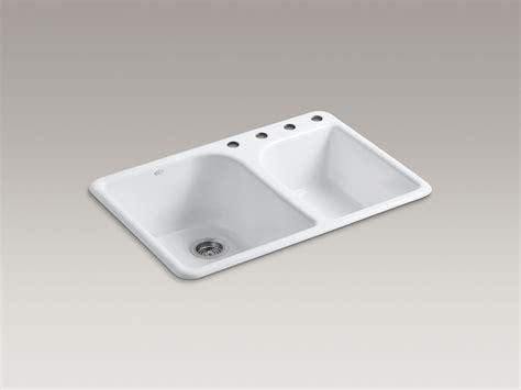 7 deep kitchen sink standard plumbing supply product kohler k 5932 4 7