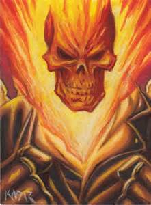 Ghost Rider Comic Art