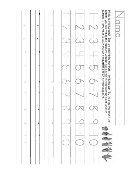 number writing worksheet   math school writing
