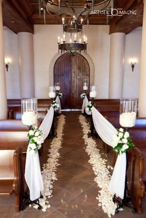 small church wedding decorations wedding and bridal