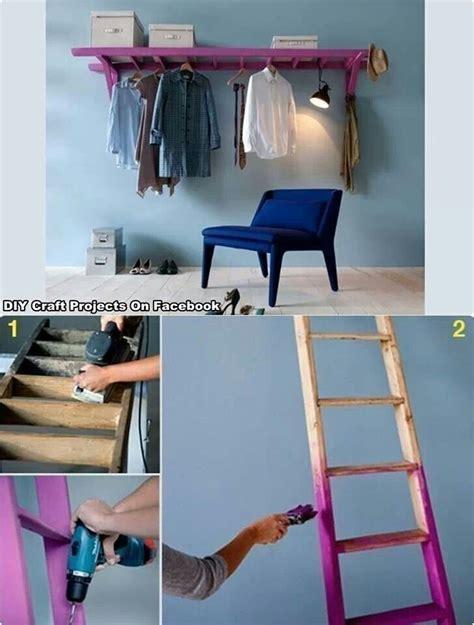 Garderobe Aus Leitern Bauen by 12 Astuces Cools Pour Se Faciliter La Vie Astuces De
